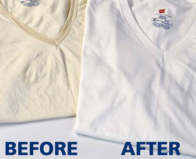 know how to  whiten clothes that have yellowed TIPS