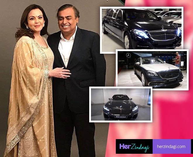 nita ambani mukesh ambani  luxury cars collection
