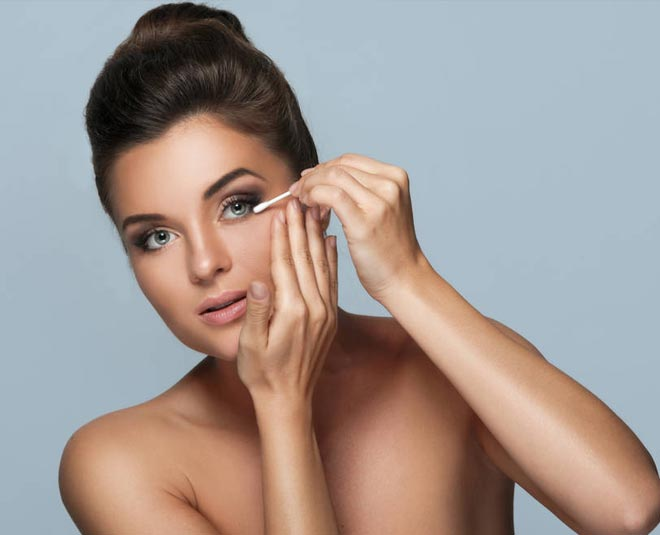 safely remove mascara if you have lash extension tips