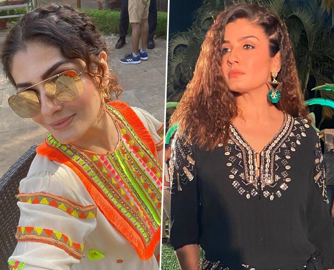 stylish looks of bollywood actress raveena tandon TIPS