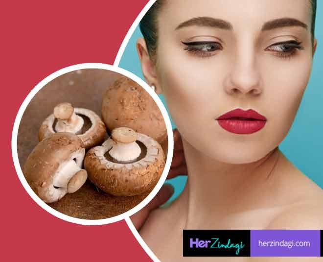 beauty benefits of mushrooms glowing skin main
