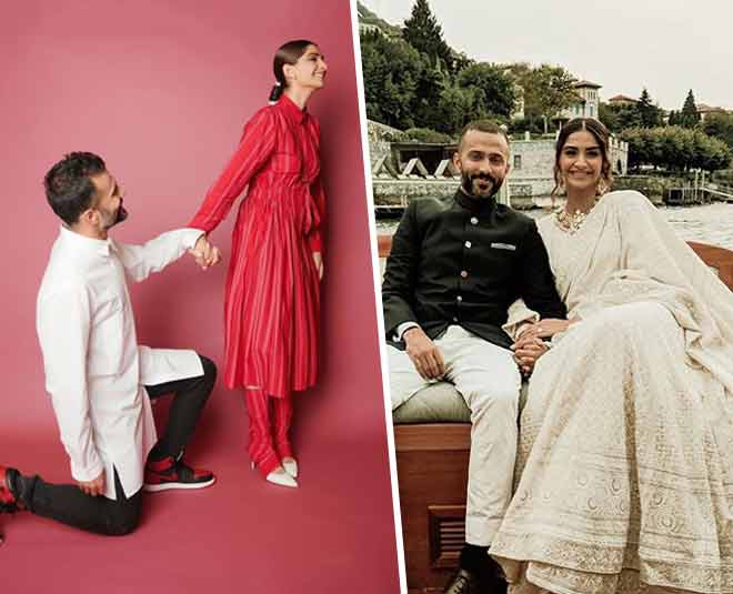 best images of sonam kapoor and anand ahuja