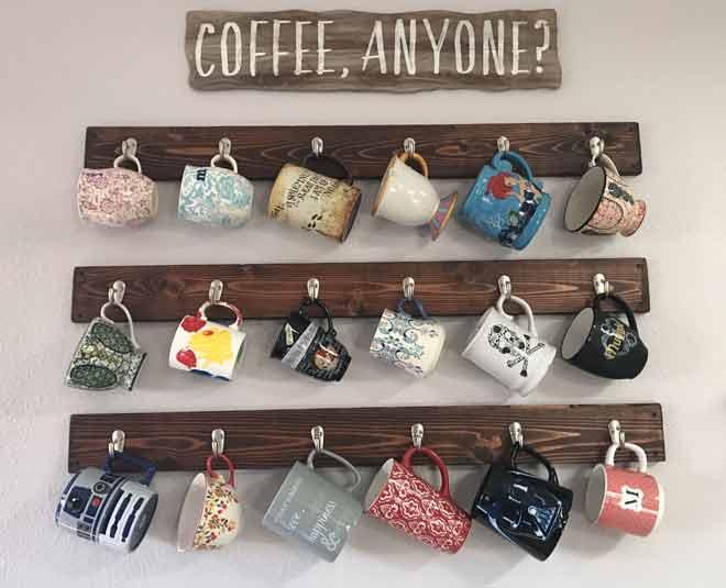 creative display coffee mugs story