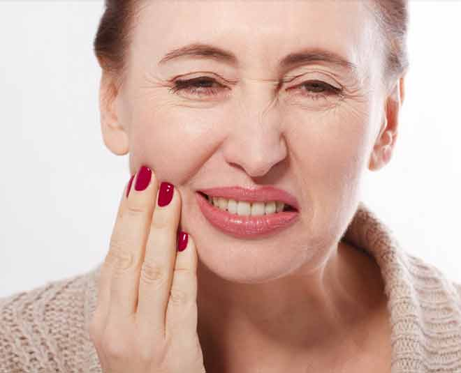 different dental prblems during menopause