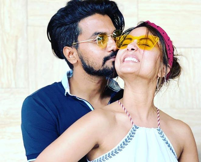hina khan with boyfriend rocky jaiswal main