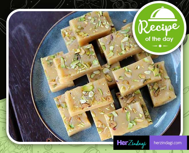 homemade tasty milk mawa barfi easy recipe