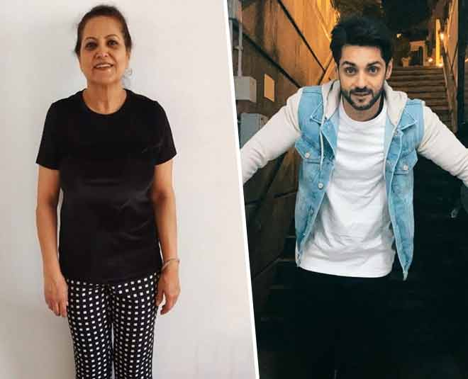 karan wahi and mother main