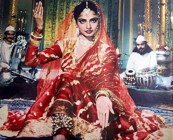 old pics of rekha and amitabh
