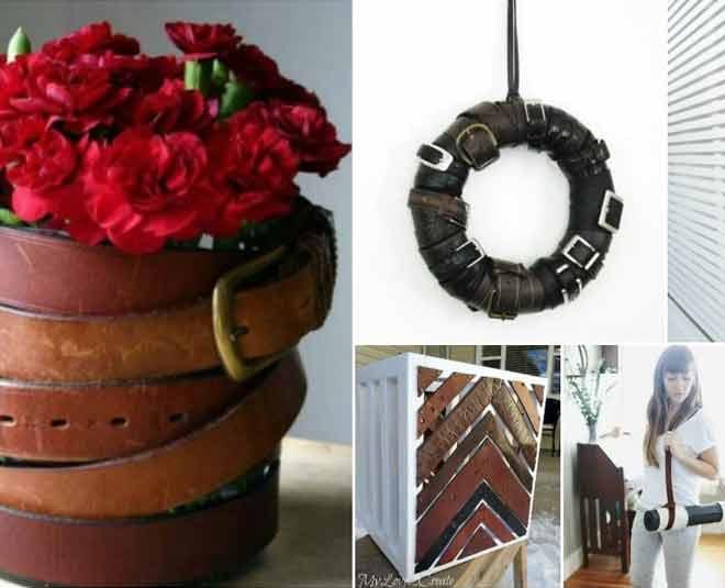 reuse of old belts ideas