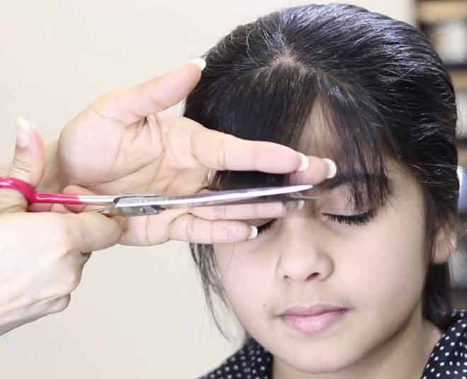 trim your hair at  home tips