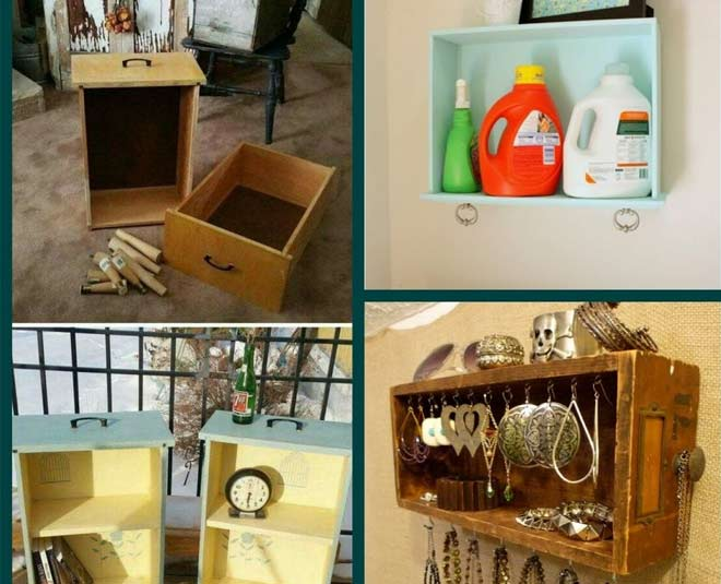 ways of using old drawers