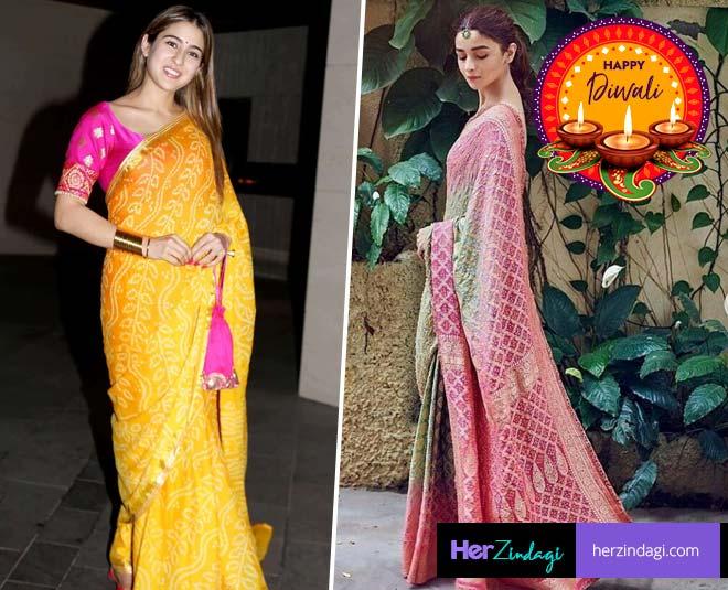Bandhani Print Outfits