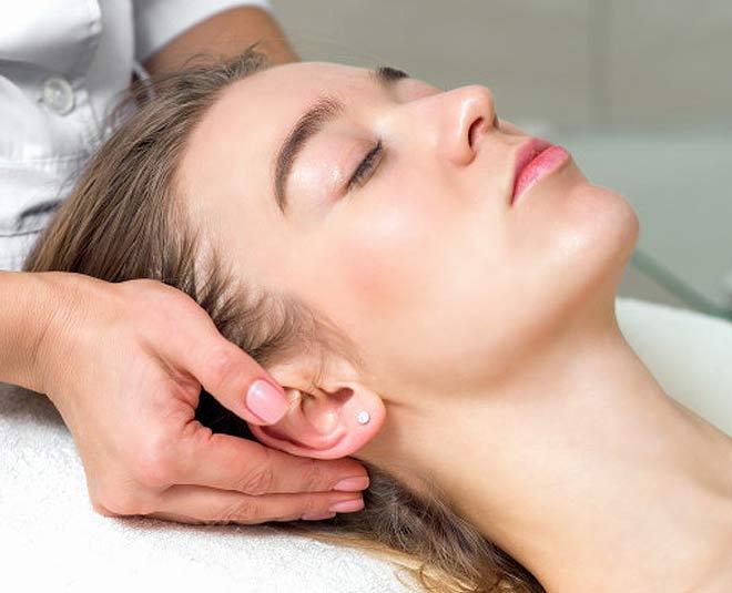 ear massage anxiety