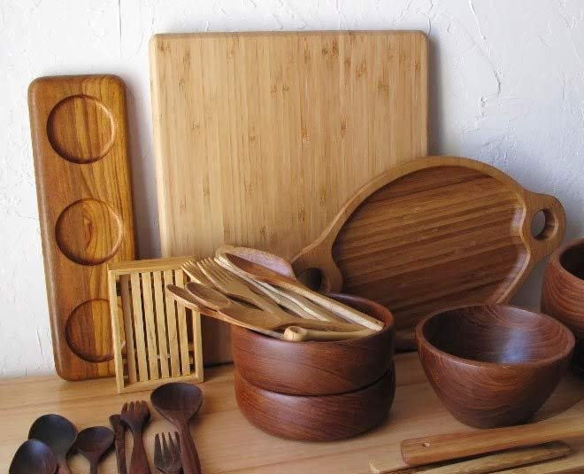 easy tips to clean wooden kitchen utensils in hindi