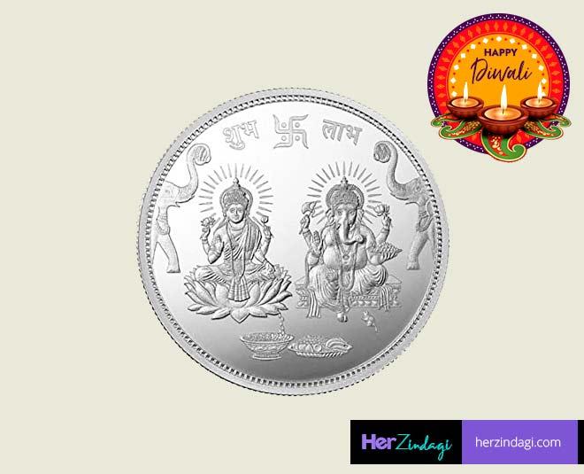 laxmi  silver  coins  diwali
