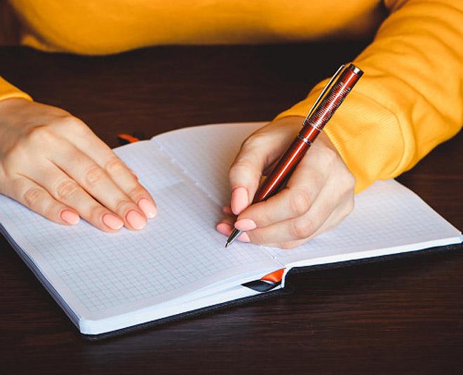 left hand writer Main