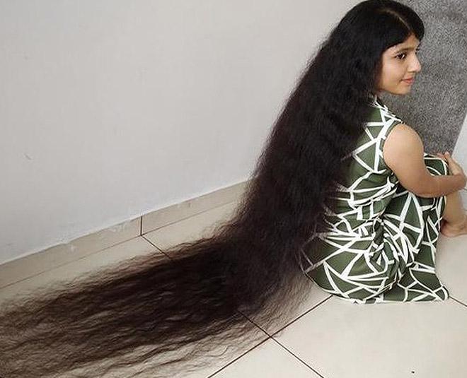 longest hair record Main