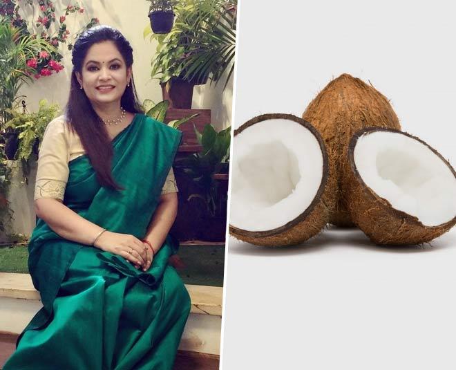 pankaj  bhadouria  tips  to  break  coconut