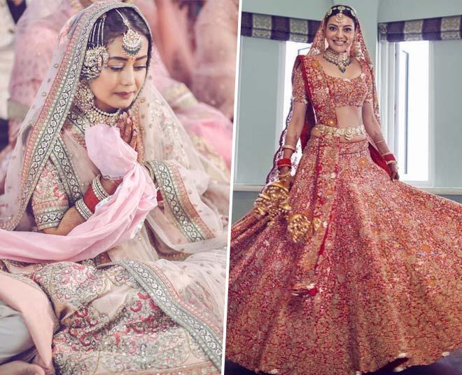pink bridal lehenga designs latest