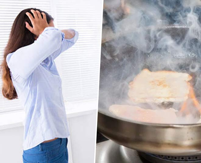 remove smoke smell from kitchen tips