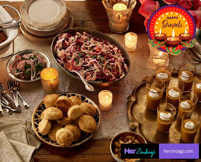 special food at home for diwali party ideas