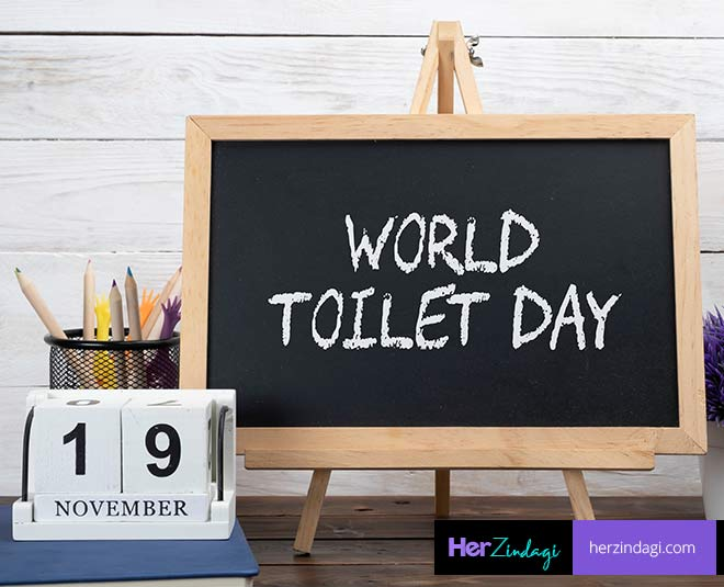 toilet and day