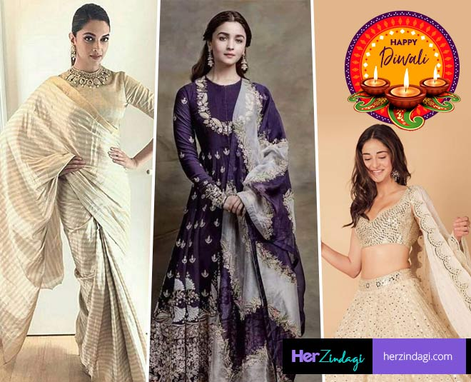Festive Fashion Outfits You Can Wear On Your First Diwali After Wedding