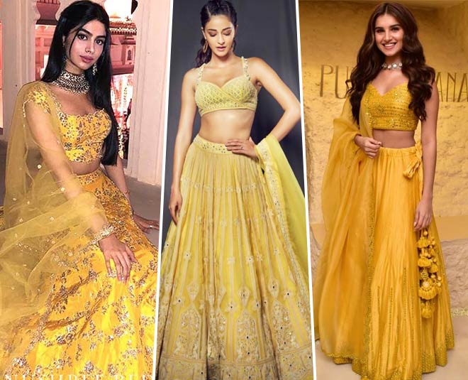 Lehengas Dulhan Can Don On Her Haldi Ceremony