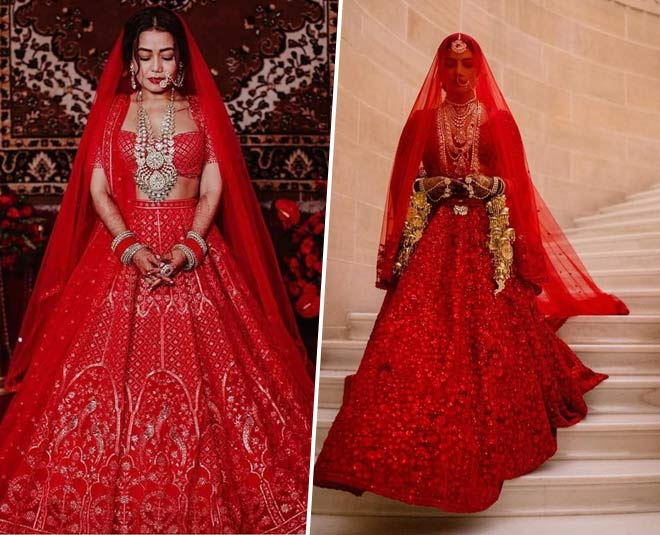 Neha Kakkar's Wedding Outfits Are Reminding Us Priyanka & Anushkas