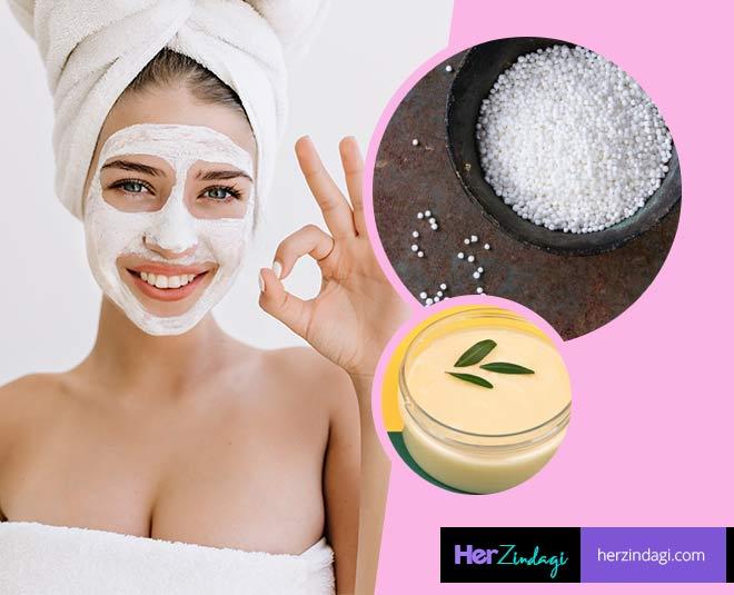 Skincare Homemade Sabudana
