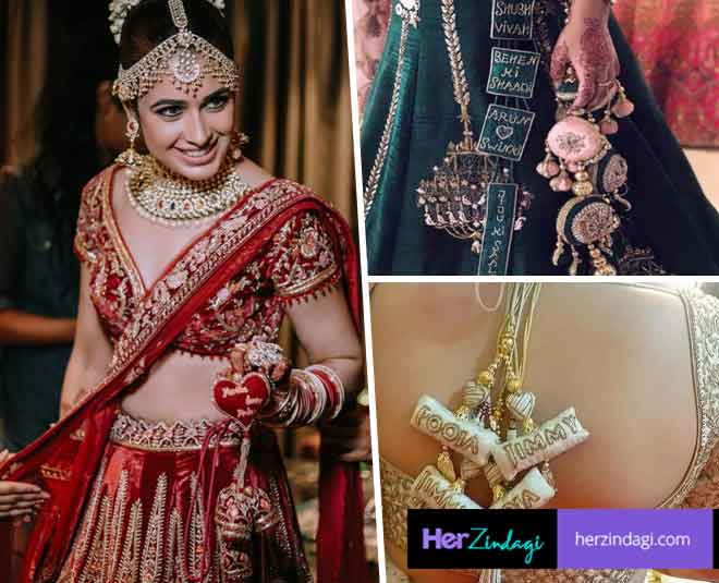 Try These Unique Designs To Personalise Your Bridal Lehengasssss