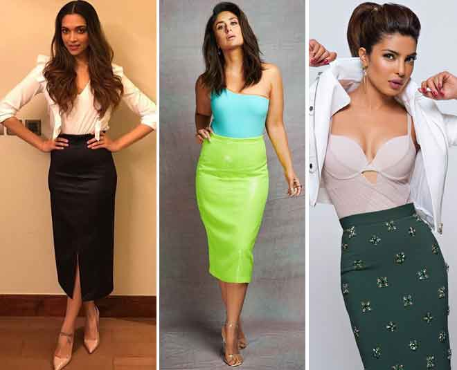 Ways To Look Stunning In Pencil Skirts