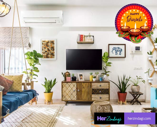 decorate your small house on diwali tips