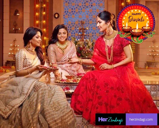diwali celebration with family main