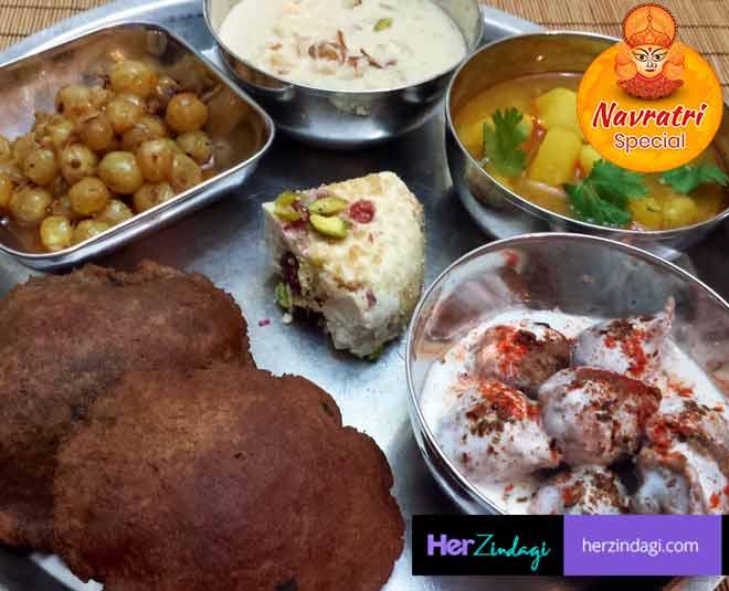 foods for navratri thali main