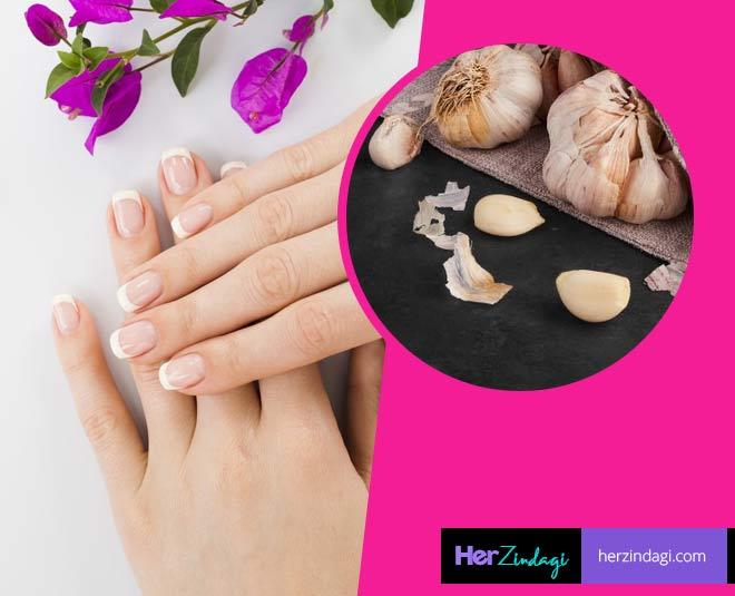 garlic for nails