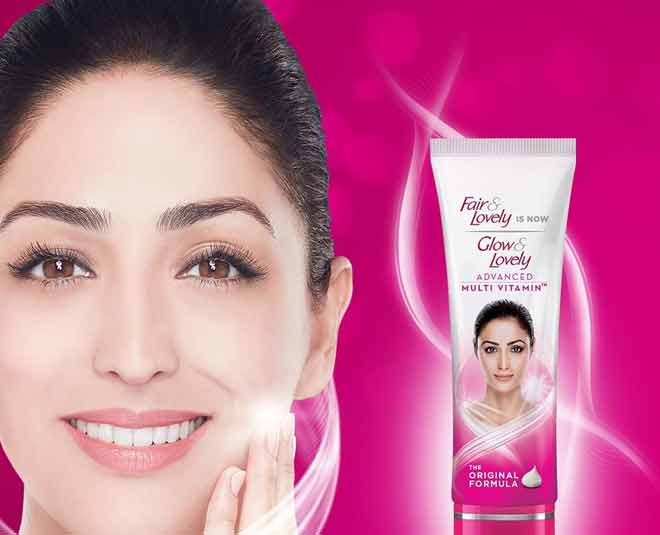 glow and lovely new advertisment
