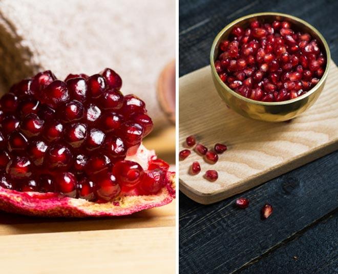 pomegranate mask for skin