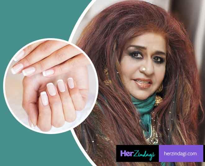 shahnaz husain tips for yellow nails