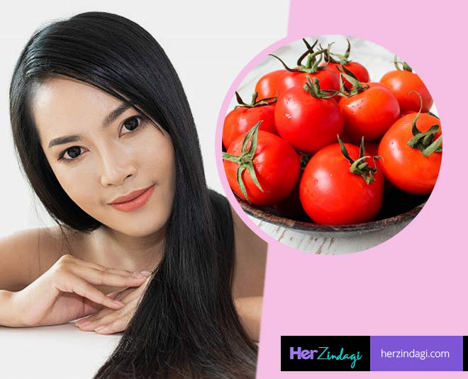 tomato  hair mask main