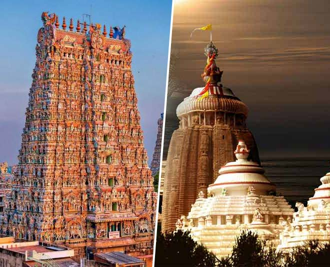 about south india to bihar oldest and famous temples