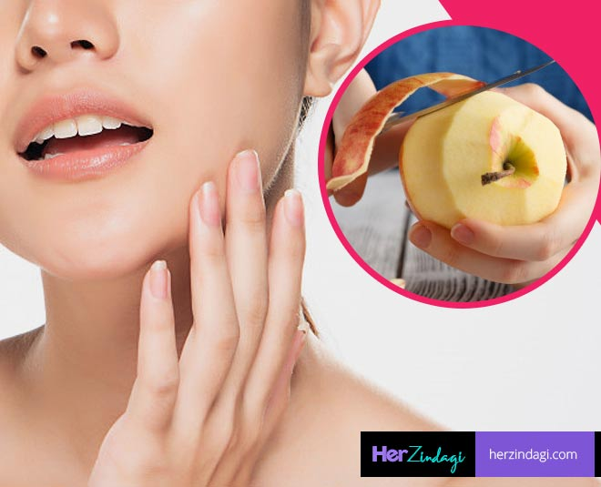 apple peel for glow main