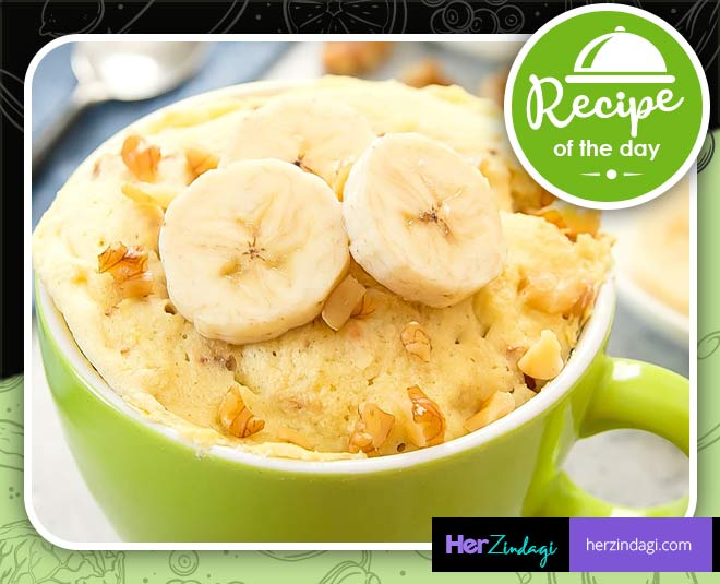 Sweet Tooth Calling? This Easy To Make Banana Mug Cake Is ...