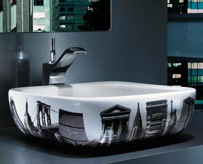 bathroom sink unique design m