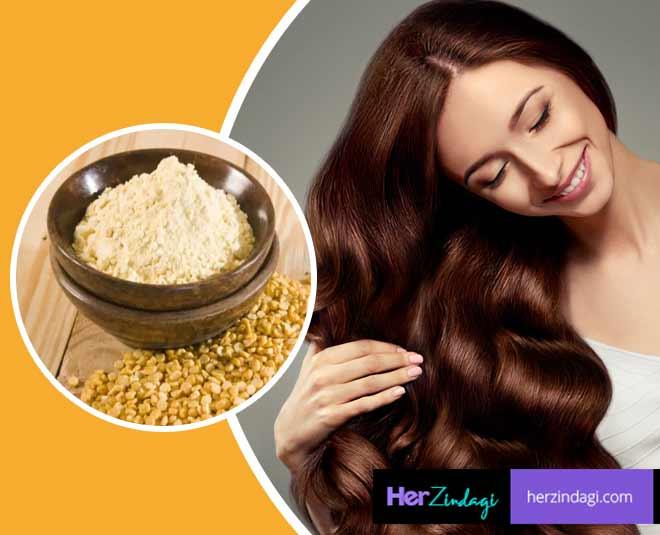 besan for hair main
