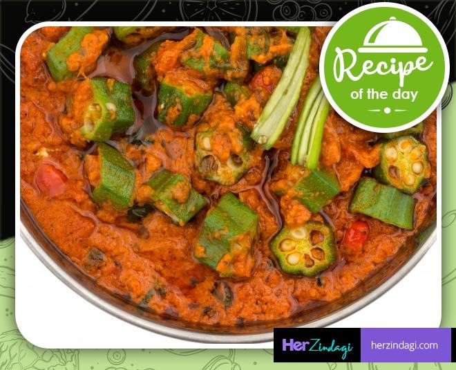 bhindi aloo sabji homemade