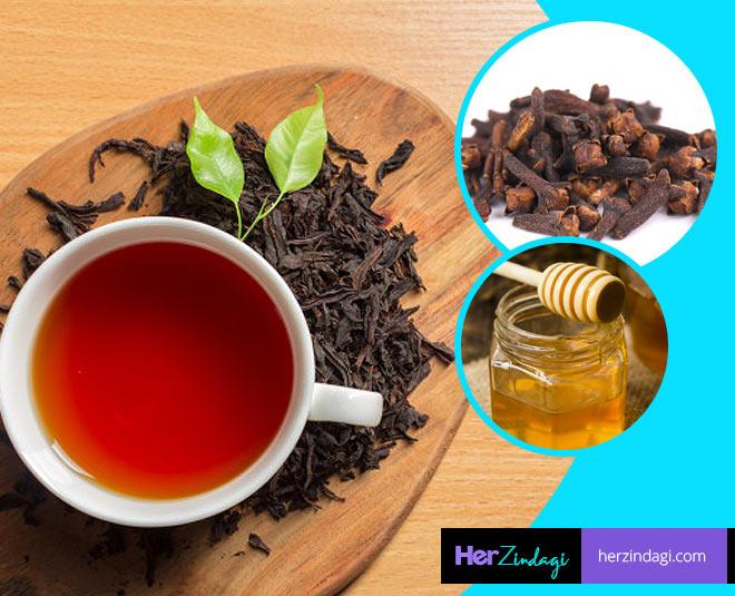 fat loss clove and honey tea