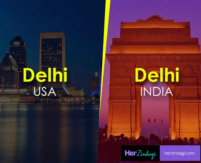 foreign cities name are similar to indian cities know