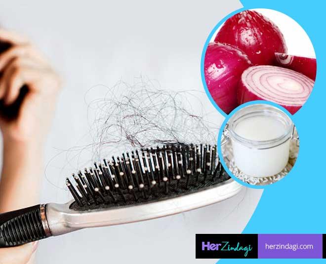 hair fall remedy onion rice water main