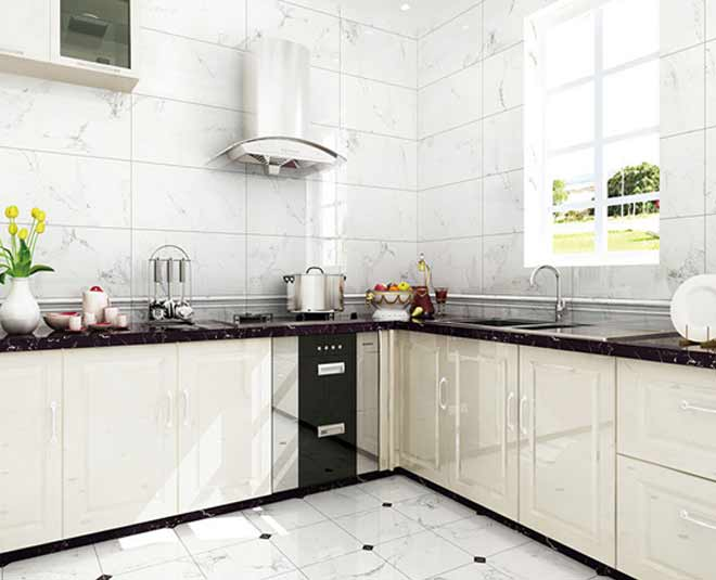 know clean oily and sticky kitchen tiles